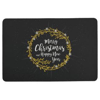 Christmas Wishes floor mats