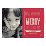 Christmas Wishes Holiday Photo Card