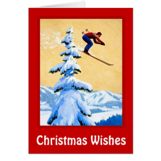 Christmas Wishes, Ski jumping Card