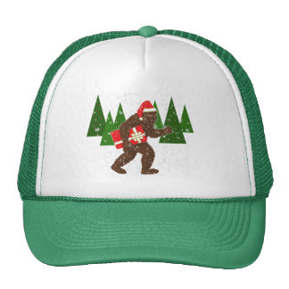 """Christmas with Bigfoot"" Hat"