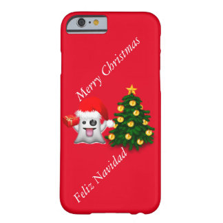 Christmas with the fantasmita of whatsapp barely there iPhone 6 case