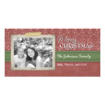 Christmas - with vintage photo border - photo cards