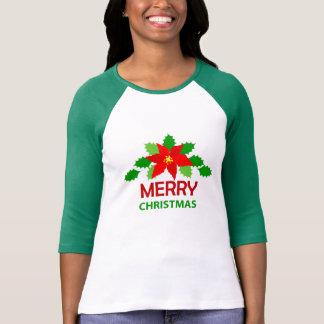 Christmas Women's Bella+Canvas 3/4 Sleeve Raglan T-Shirt