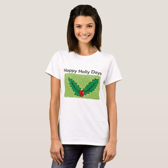 christmas womens t shirt
