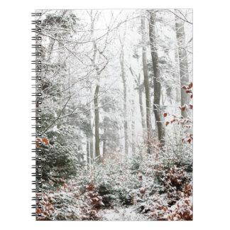 Christmas Woodland Notebook