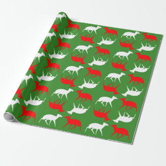 Christmas Wrapper featuring mousedeer Wrapping Paper