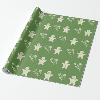 Christmas Wrapper - Snowman Stars Wrapping Paper