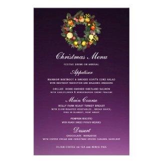 CHRISTMAS WREATH | CHRISTMAS MENU