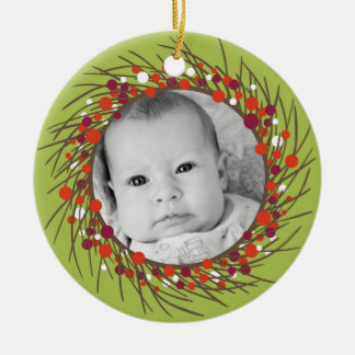 Christmas Wreath: Double-Sided Christmas Ornament