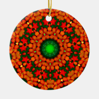 Christmas Wreath Fractal Christmas Ornament