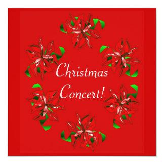 Christmas Wreath 5.25x5.25 Square Paper Invitation Card
