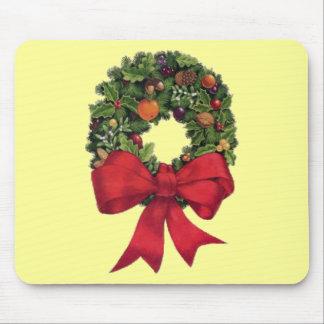 Christmas Wreath Mouse Pad