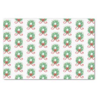 Christmas Wreath Tissue Paper
