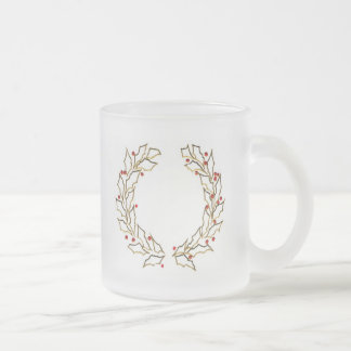 Christmas Wreaths Frosted Mug