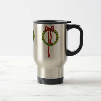 Christmas Wreaths Travel Mug