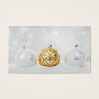 Christmas Xmas Celebration Business Card