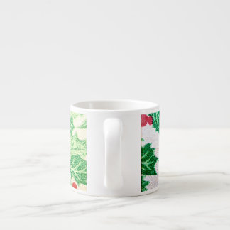 Christmas xmas holiday berry espresso mug