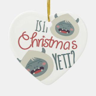 Christmas Yeti Christmas Ornament