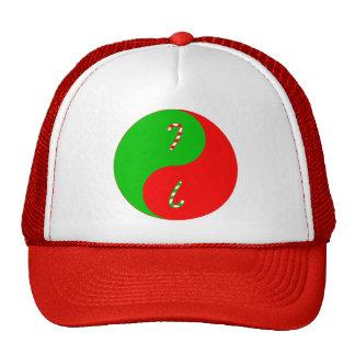 Christmas Yin Yang Mesh Hats