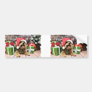 Christmas - Yorkie - Jack Bumper Sticker