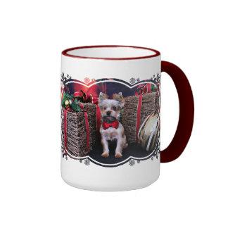 Christmas - Yorkie - Perseus Mugs