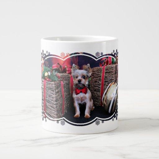 Christmas - Yorkie - Perseus Jumbo Mug