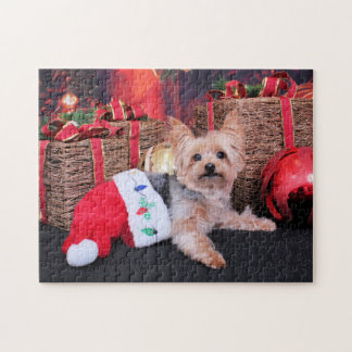 Christmas - Yorkshire Terrier - Vinnie Puzzle