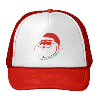 Christmas You'd Better Watch Out Mesh Hat