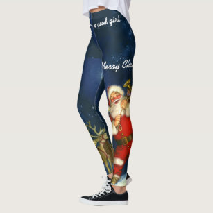 Womens Yoga Pants Vintage Floral with Winking owl Light Long Yoga Pants Yoga Leggings with Pockets