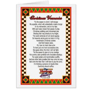 Christmas Yummies  Card