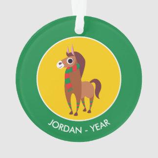 Christmas Zora the Horse