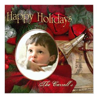 ChristmasCarroll 13 Cm X 13 Cm Square Invitation Card