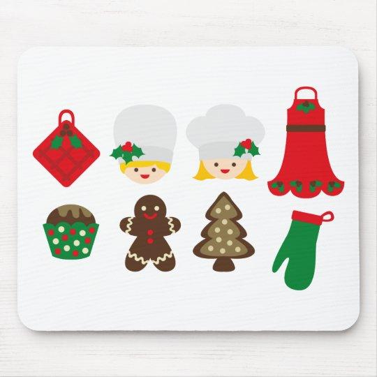 ChristmasKitchen7 Mouse Mat