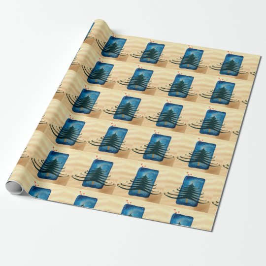 Christmass New Year Wrapping Paper