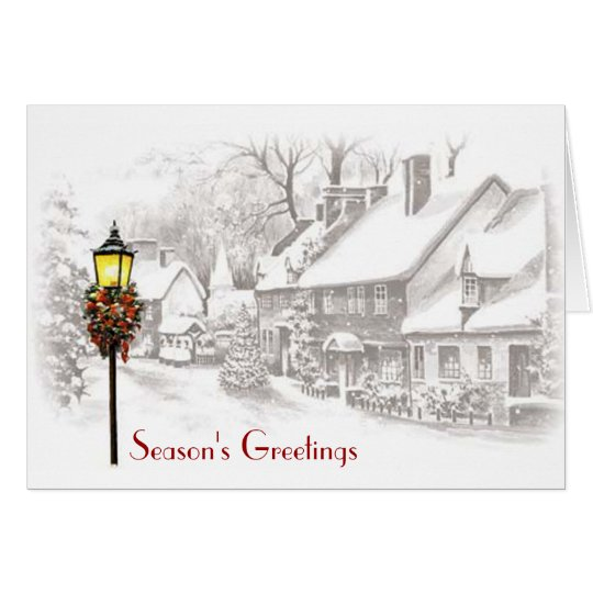 ChristmasTown Business Holiday Card