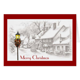 ChristmasTown Greeting Card