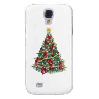 ChristmasTree/Holiday Tree Galaxy S4 Case