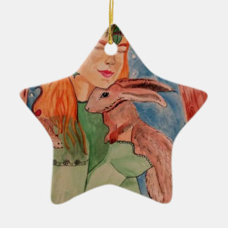 christmaswitch ceramic star decoration