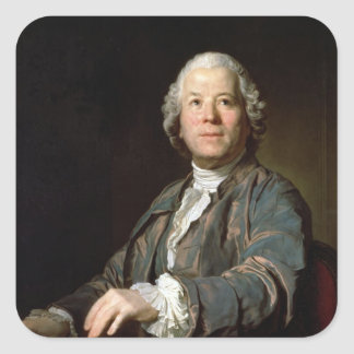 Christoph Willibald Gluck  at the spinet, 1775 Square Sticker