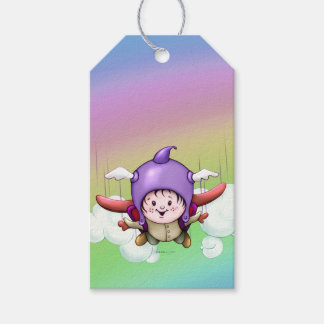 CHRISTOPHER CARTOON  GIFT TAG