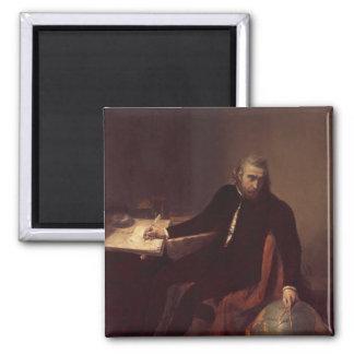 Christopher Columbus, 1839 Square Magnet
