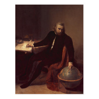 Christopher Columbus, 1839 Postcard