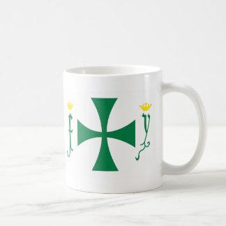 Christopher Columbus Flag Basic White Mug