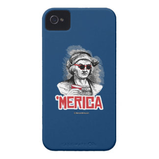 Christopher Columbus 'Merican Party iPhone 4 Case