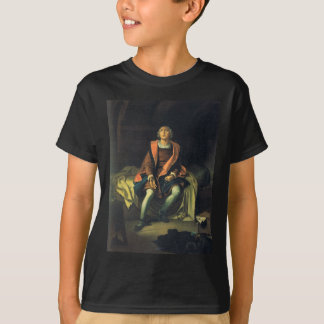 Christopher Columbus paint by Antonio de Herrera T-Shirt