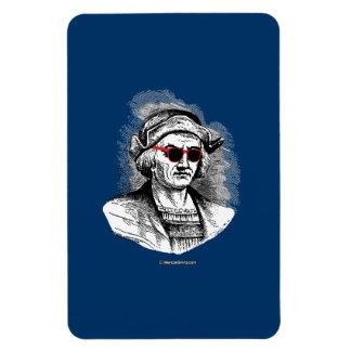 Christopher Columbus Party Glasses Rectangular Photo Magnet