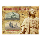 Christopher Columbus Postcard