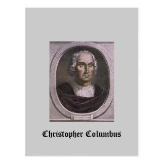Christopher Columbus Postcard