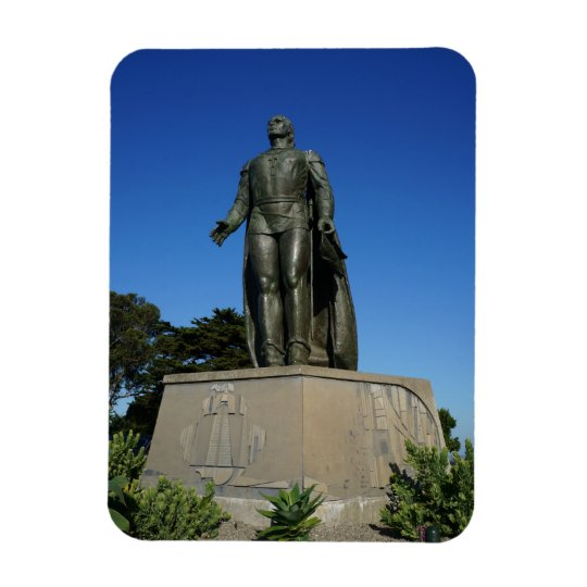 Christopher Columbus Statue Photo Magnet