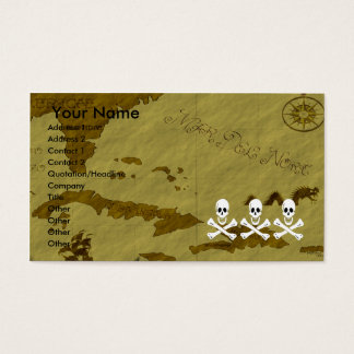 Christopher Condent Map #3 Business Card